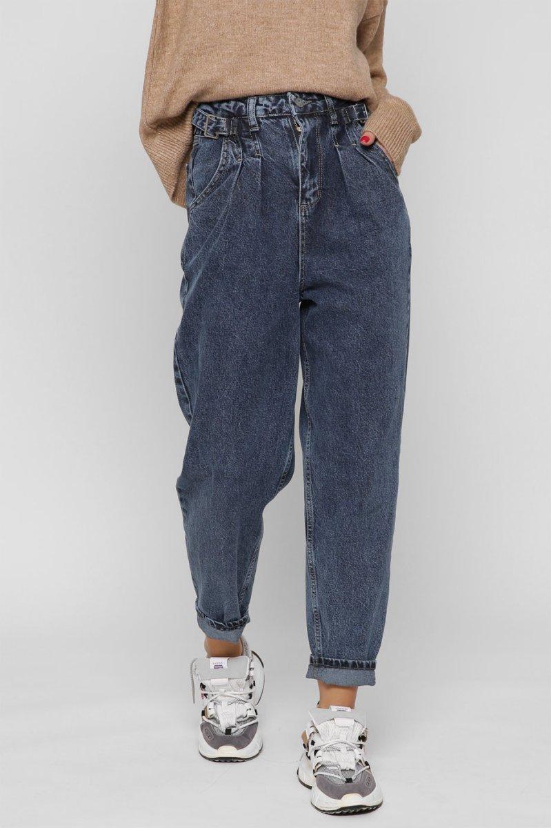 Женские джинсы slouchy 31837-2 синий