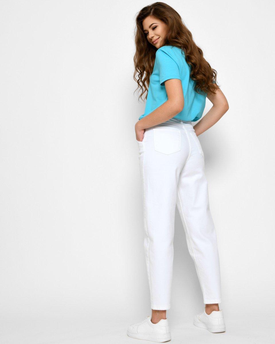 Женские джинсы Slouchy 31939-3 белый