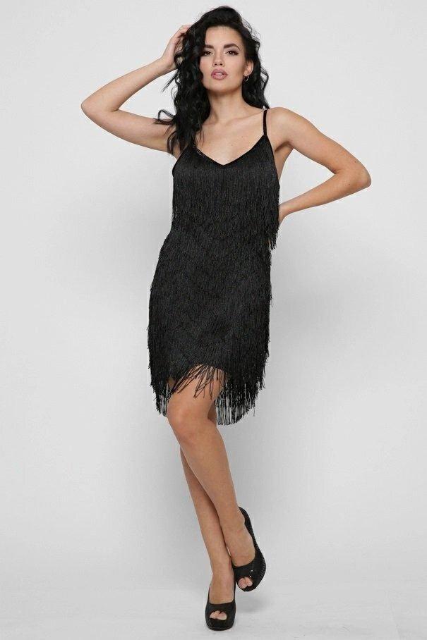 Платье 10393-8 черный
