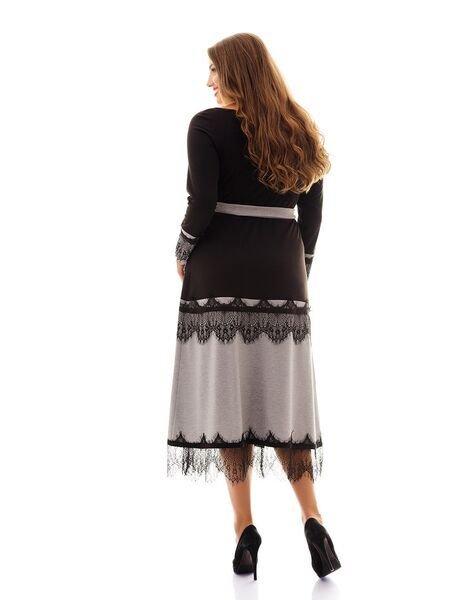 Платье с запахом 1017