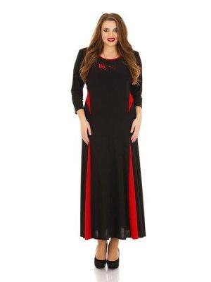 Платье в пол арт 1141