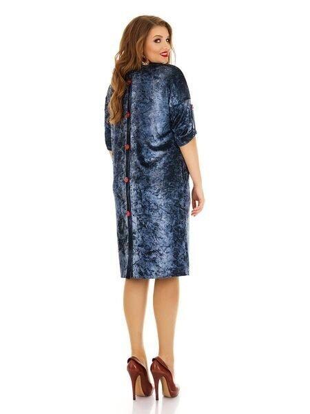 Платье велюра 1143