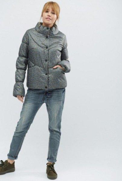Стильная демисезонная куртка LS-8737-4