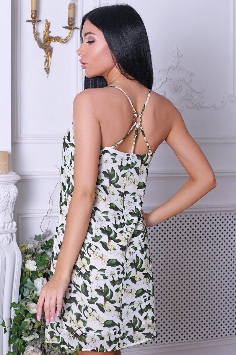 Платье 10257-6 Желтый