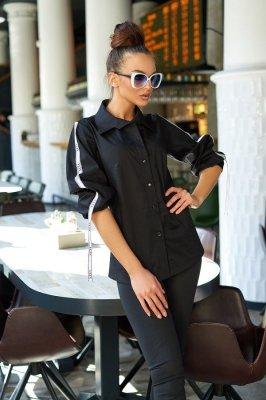 Рубашка Леруа черный