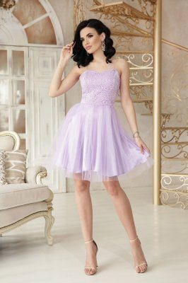 Платье Эмма б/р лавандовый
