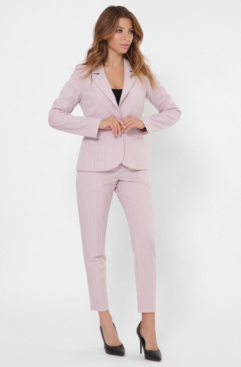 Классический костюм-двойка 2132-21 Пыльная роза