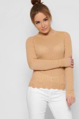 Трикотажный свитер 32603-10 Песок
