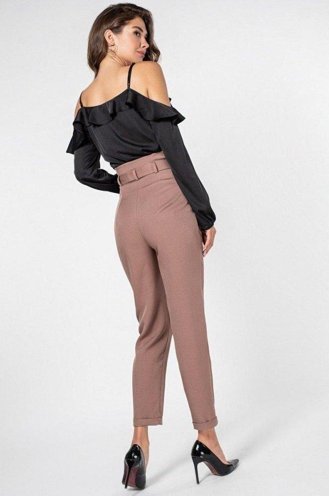Шёлковая блуза 21151 черная