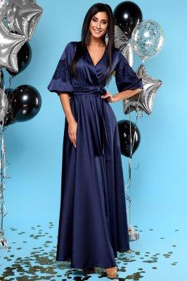 Платье Luna тёмно-синий