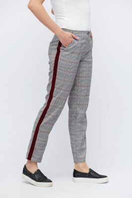 Классические брюки 4225-4 Серый