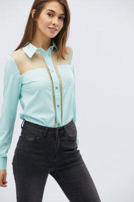 Женская шифоновая блузка BK-7622-18