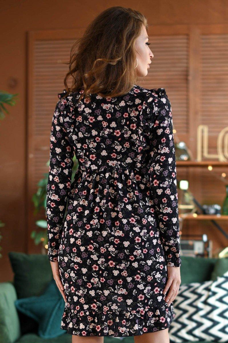 Платье KP-10235-8 Черный