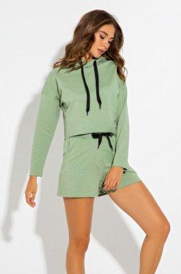 Комфортный костюм 3096 оливковый