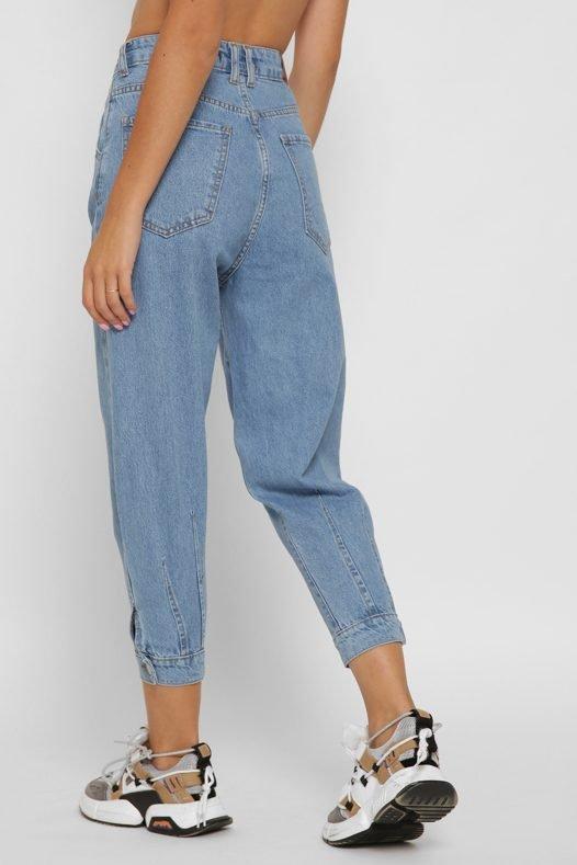Женские джинсы 31810-11 голубой