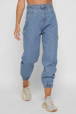 Стильные джинсы джоггеры 31812-11