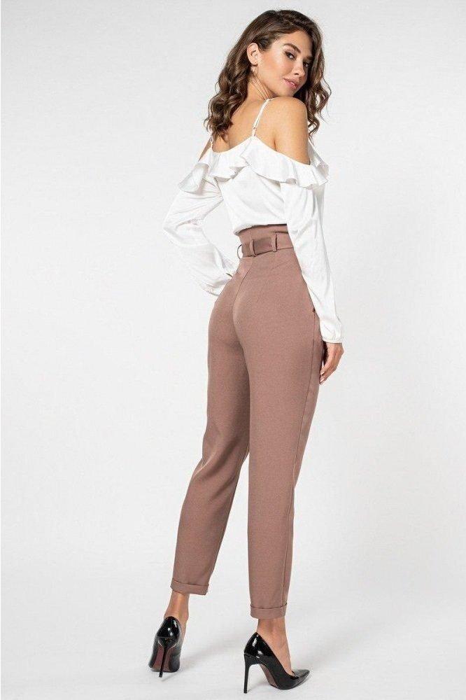 Шёлковая блуза 21146 молочная
