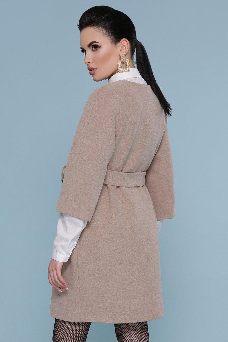 Пальто П-355 003-бежевый