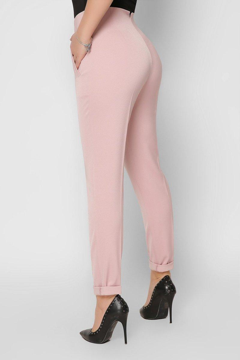 Женские брюки 4251-21 пыльная роза