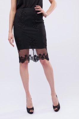Нежная юбка UB-3240-8 Черный