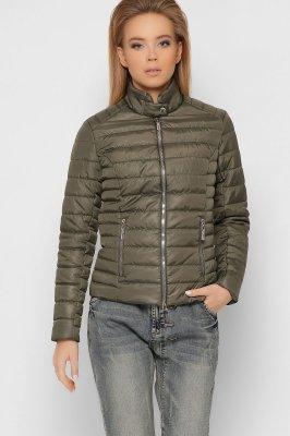 Женская стеганая куртка 8820-32 Оливка