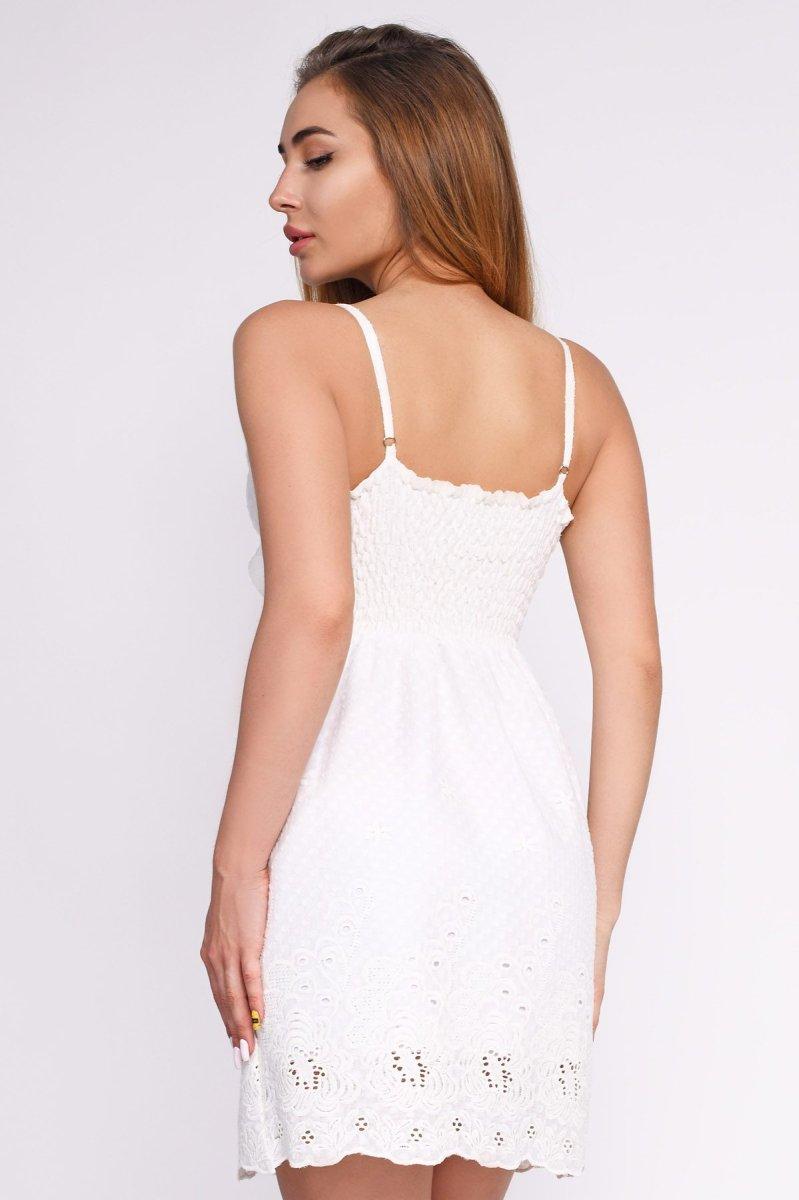 Белое платье KP-10164-10