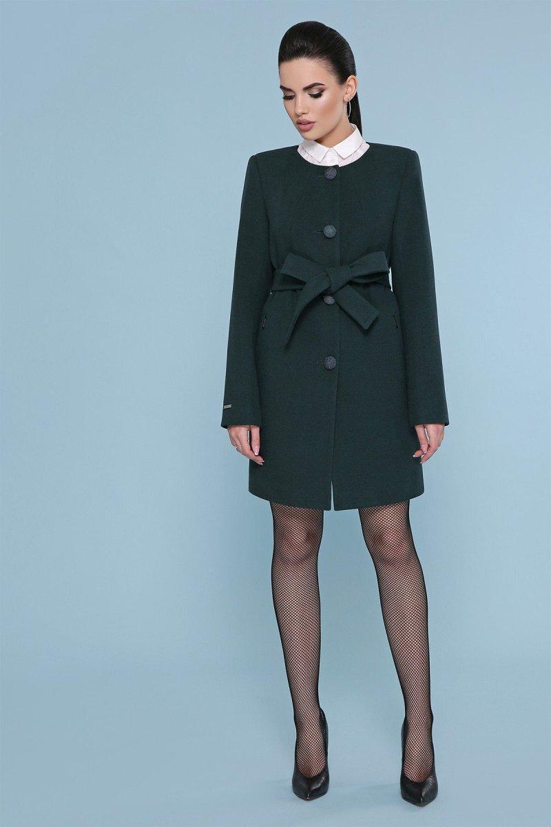 Пальто П-337-К 7214-зеленый