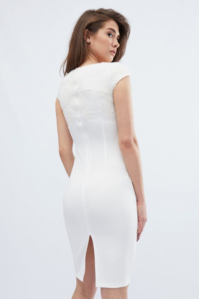 Платье 10133-3 Молоко