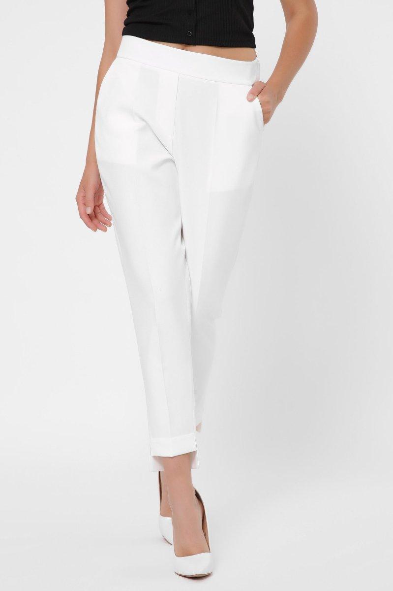 Классические женские брюки 4245-10 Молоко