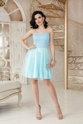 Платье Эмма б/р голубой