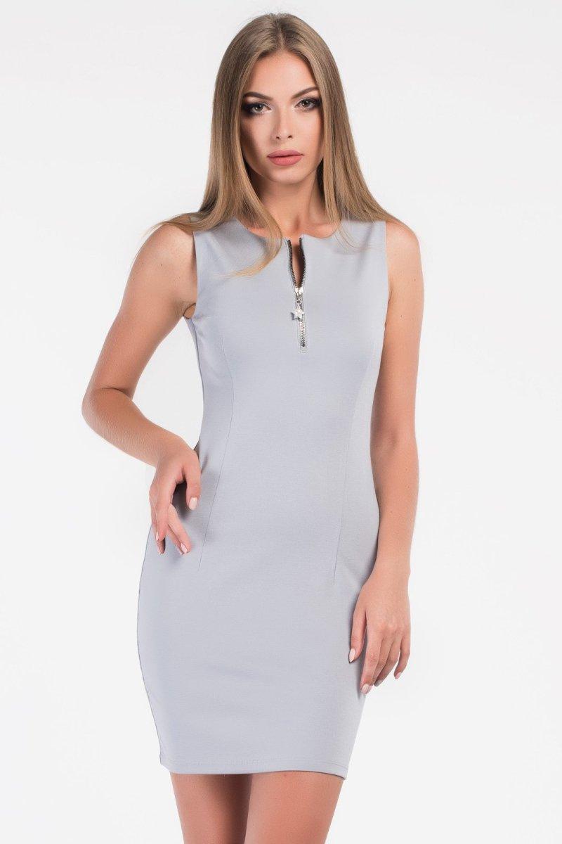 Платье 10175-4 Серый