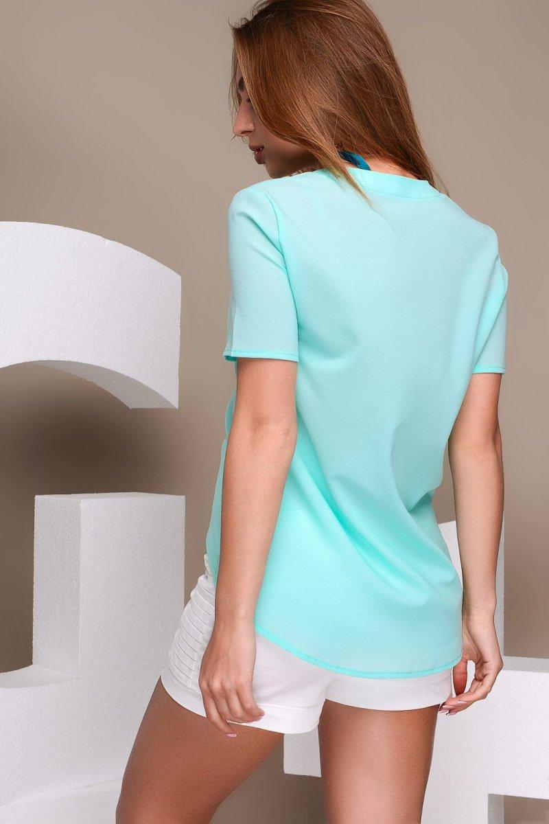 Блузка LB-0001-7 Мятный