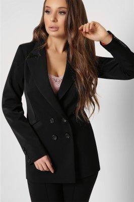 Дизайнерский женский пиджак 9023-8 черный