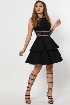 Коктейльное платье 10289-8 черное