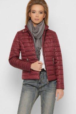 Женская стеганая куртка 8820-16 Марсала