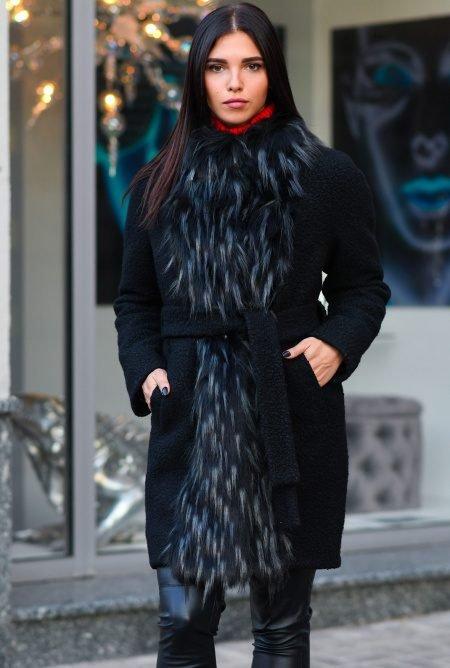 Теплое зимнее пальто LS-8765-8