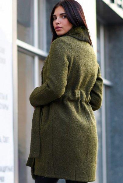 Теплое зимнее пальто LS-8767-1