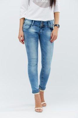 Классические джинсы скинни 31037-11 голубой