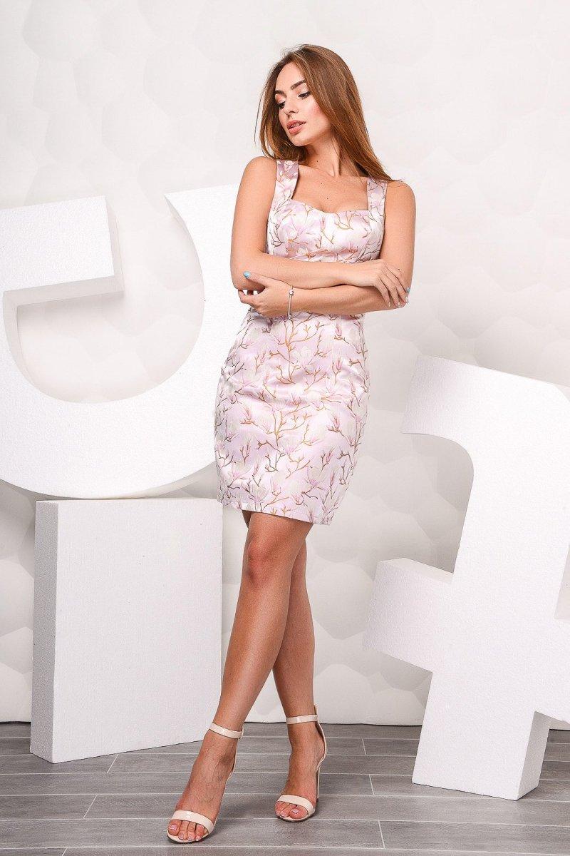 Платье 10017-15 Розовый