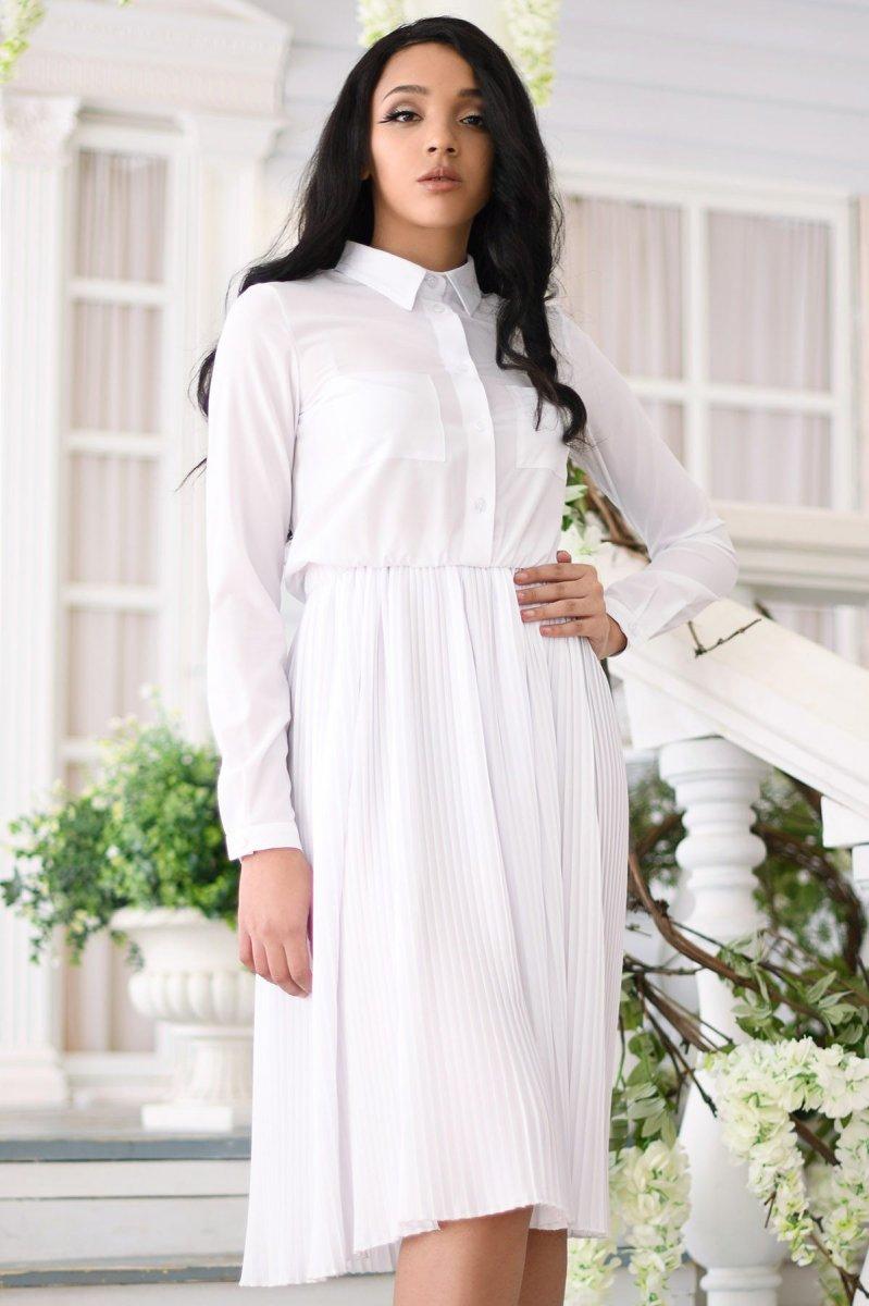 Платье KP-10246-3 Белый