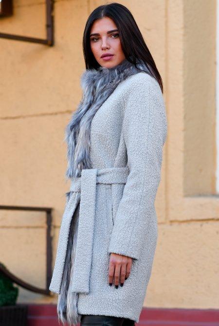 Теплое зимнее пальто LS-8765-4
