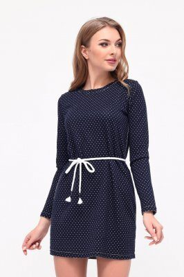 Платье KP-10201-2 Синий