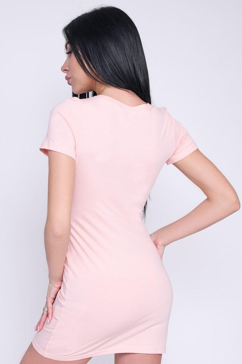 Платье 10241-27 Персик