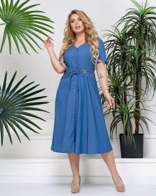 Джинсовое платье Джумейра (голубой)