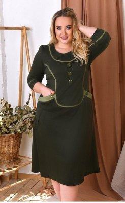 Платье с карманами 1591