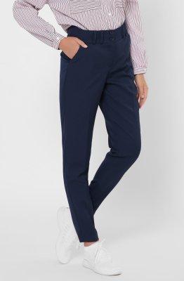 Дизайнерские женские брюки 4246-2 Синий