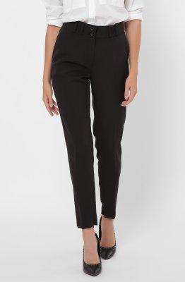 Дизайнерские женские брюки 4246-8 Черный