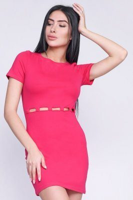 Платье 10241-9 Малина