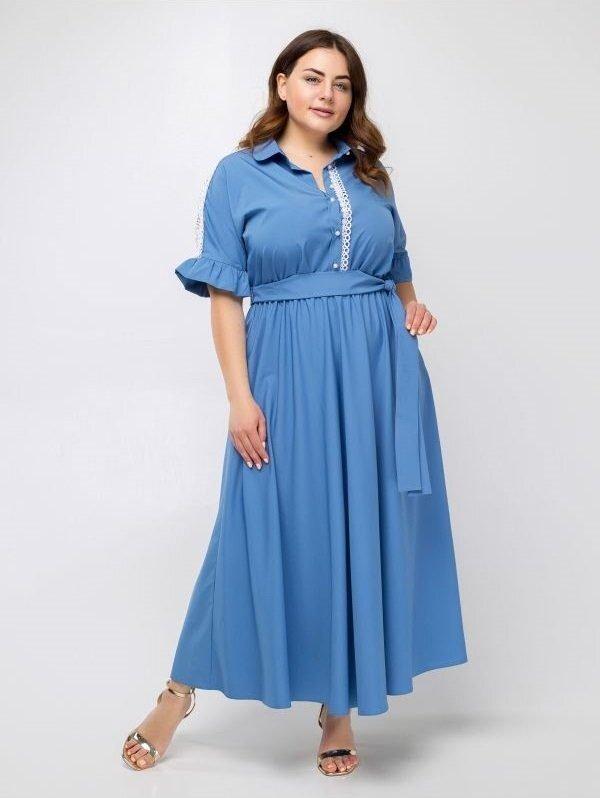 """Платье """"Луиза"""" (голубой)"""