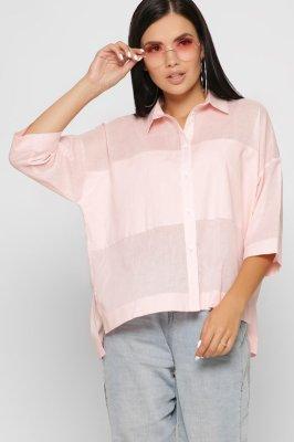 Женская рубашка 7717-15 розовый